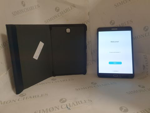 Lot 15 UNBOXED SAMSUNG SM-T710 32GB ANDROID TABLET - BLACK WITH CASE