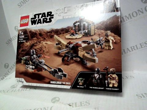 Lot 89 LEGO STAR WARS TROUBLE ON TATOOINE 75299  7+