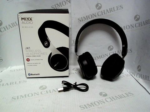 Lot 807 MIXX AUDIO WIRELESS JX1 HEADPHONES