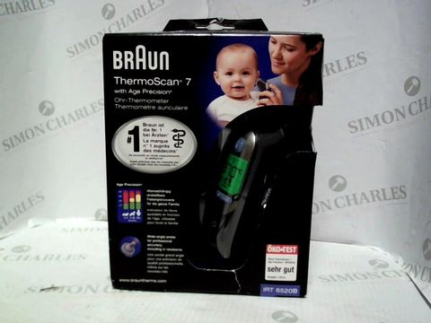 Lot 8066 BRAUN THERMOSCAN 7