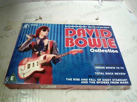 Lot 590 DAVID BOWIE COLLECTION DVD SET