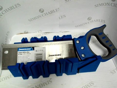 Lot 7347 SILVERLINE EXPERT MITRE BOX & SAW 300 X 90MM