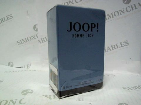 Lot 3048 BRAND NEW AND SEALED JOOP! HOMME ICE EDT 120ML