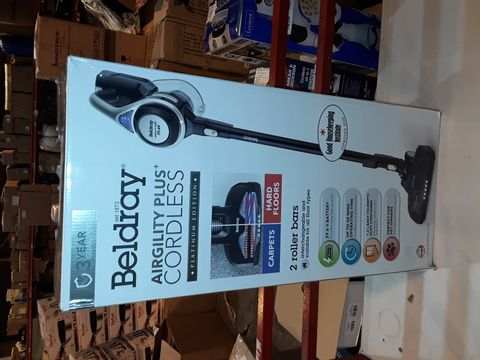 Lot 1183 BELDRAY AIRGILITY + CORDLESS VACUUM CLEANER