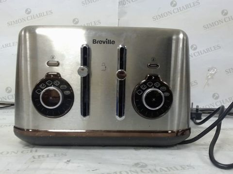 Lot 109 BREVILLE 4-SLICE TOASTER - STAINLESS STEEL