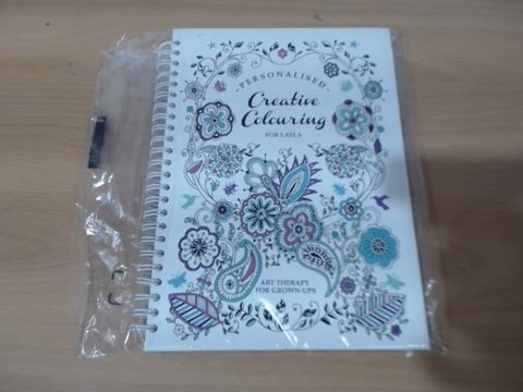 Lot 1040 PERSONALISED COLOURING BOOK