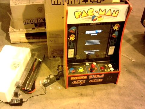 Lot 11335 ARCADE1UP PAC-MAN PARTY-CADE