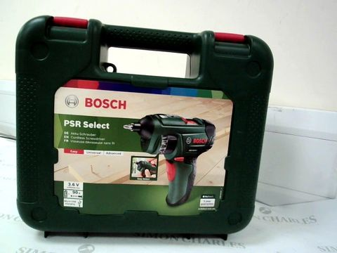 Lot 12414 BOSCH PSR SELECT CORDLESS SCREWDRIVER