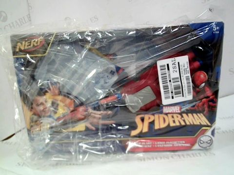 Lot 20 NERF SPIDER-MAN WEB BLAST RRP £24.99