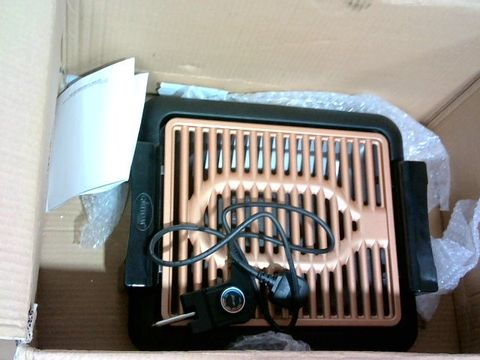 Lot 4069 GOTHAM STEEL COPPER NON-STICK ELECTRIC INDOOR GRILL