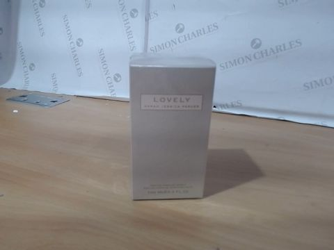 Lot 1077 BOXED SEALED SARAH JESSICA PARKER LOVELY 100ML RRP £60.00