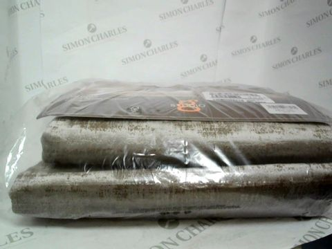 "Lot 7430 STUDIO G NAPLES VELVET LINED EYELET CURTAINS 46 X 72"" COLOUR - TAUPE RRP £105.00"