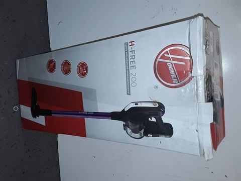 Lot 1103 HOOVER H-FREE 200 PETS 3IN1 CORDLESS STICK VACUUM CLEANER