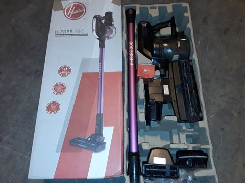 Lot 2566 HOOVER H-FREE 200 PETS 3IN1 CORDLESS STICK VACUUM CLEANER