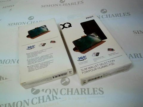 Lot 2640 BOX OF 17 BRAND NEW BOXED XQISIT SLIM WALLETS FOR HUAWEI P30