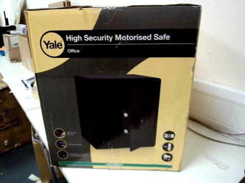 Lot 702 YALE HIGH SECURITY MOTORISED SAFE