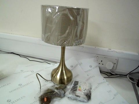 Lot 7508 ENDON LIGHTING TABLE LAMP WITH SHADE
