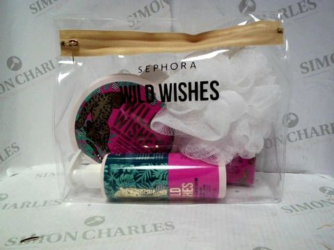 Lot 8050 SEPHORA WILD WISHES BATH SET