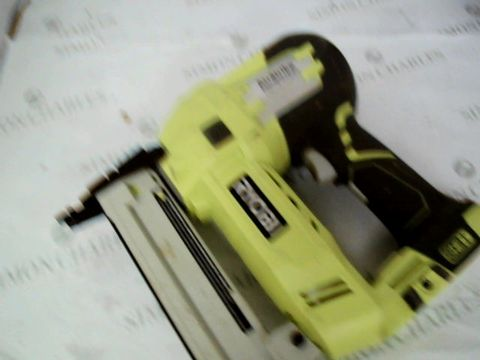 Lot 11060 RYOBI BATTERY TACKER R18S18G/WITH 500 STAPLES, WITHOUT BATTERY AND CHARGER