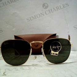 Lot 83 PAIR OF DESIGNER GOLD TONE FRAMED SUNGLASSES