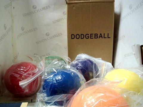 Lot 4032 DODGEBALL SET WITH STORAGE BAG