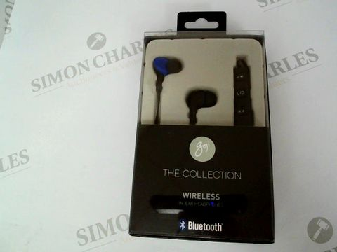 Lot 2407 BRAND NEW BOXED GOGI BLUETOOTH WIRELESS IN-EAR HEADPHONES