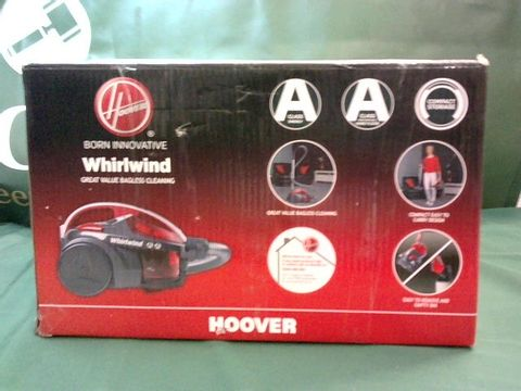 Lot 9044 HOOVER WHIRLWIND BAGLESS VACUUM CLEANER