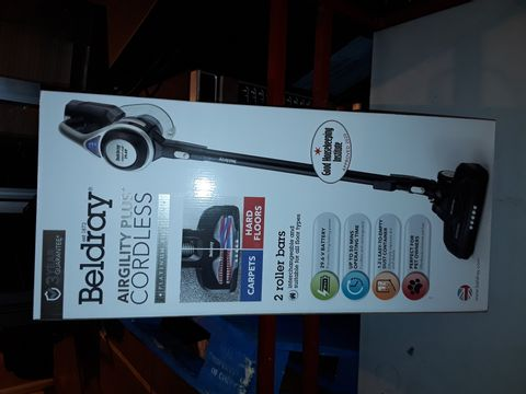 Lot 509 BELDRAY AIRGILITY + CORDLESS VACUUM CLEANER
