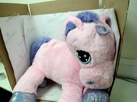 Lot 10016 PONY SOFT PLUSH TOY