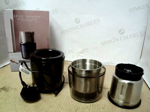 Lot 15116 CUISINART STYLE COLLECTION ELECTRIC SPICE & NUT GRINDER