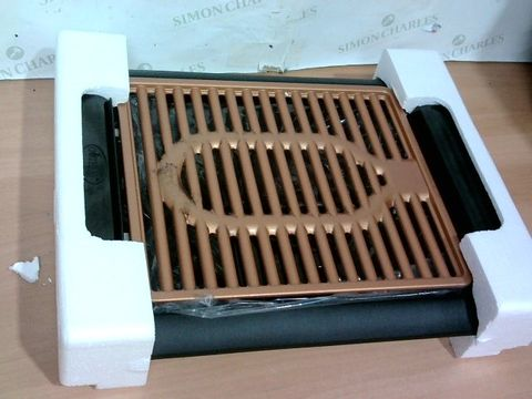 Lot 3374 GOTHAM STEEL COPPER NON-STICK ELECTRIC INDOOR GRILL