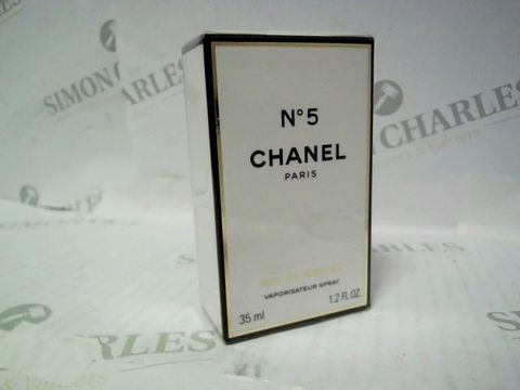 Lot 3024 BRAND NEW AND SEALED CHANEL NO 5 EDP 35ML