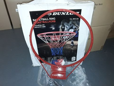 Lot 9170 DUNLOP BASKETBALL RING WITH NET