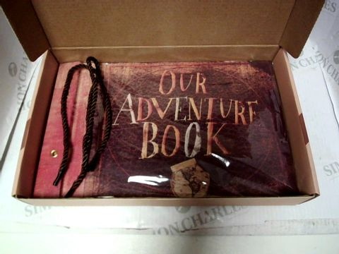 Lot 1220 NEW AND SEALED PIXAR'S UP ADVENTURE BOOK REPLICA SCRAPBOOK