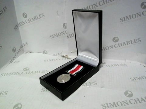 Lot 543 1942 EXEMPLARY SERVICE SILVER MEDAL