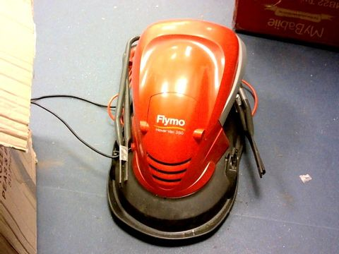 Lot 7260 FLYMO HOVER VAC 250 ELECTRIC HOVER COLLECT LAWNMOWER