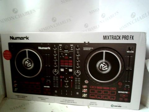 Lot 292 NUMARK MIXTRACK PRO FX PERFORMANCE DJ CONTROLLER