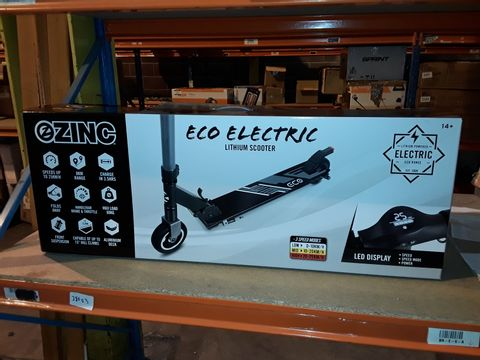 Lot 2083 ZINC ECO COMMUTER ELECTRIC SCOOTER RRP £287.99