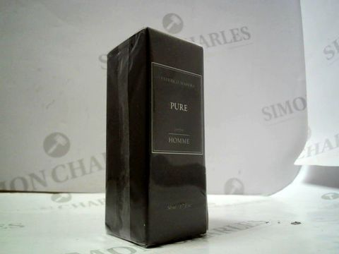 Lot 8498 FREDERICO MAHORA PURE HOMME 50ML (472)