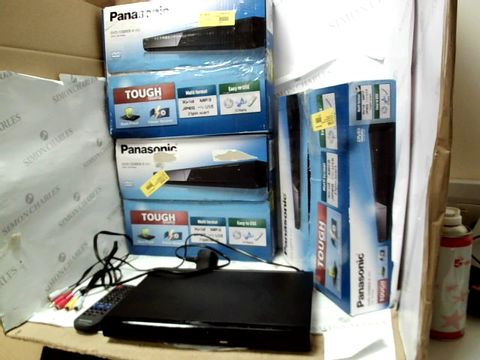 Lot 12109 LOT OF 3 PANASONIC DVD-S500EB-K DVD/CD PLAYERS