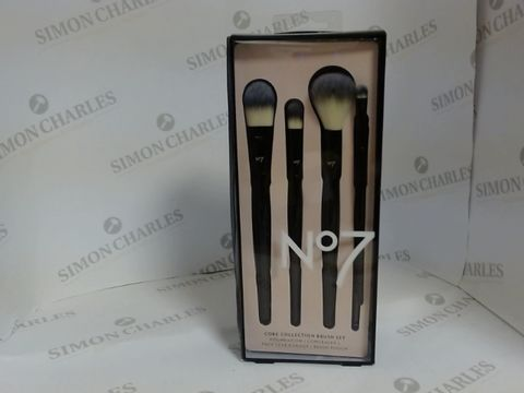 Lot 8504 NO7 CORE COLLECTION BRUSH SET