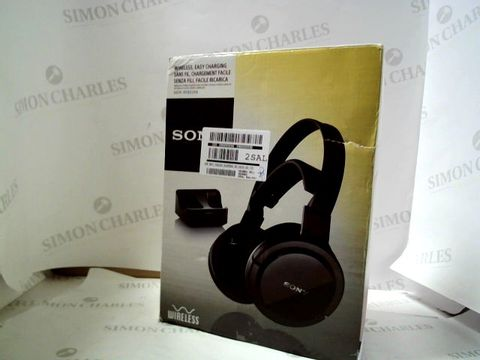 Lot 4142 SONY RF855 WIRELESS HEADPHONES  RRP £120.00