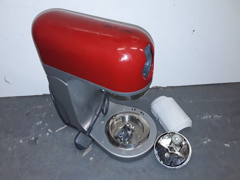 Lot 4104 KENWOOD KMIX STAND MIXER, 1000 W - SPICY RED