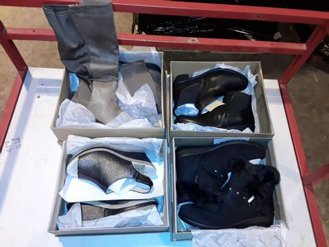 Lot 3079 LOT OF 4 ASSORTED SHOES