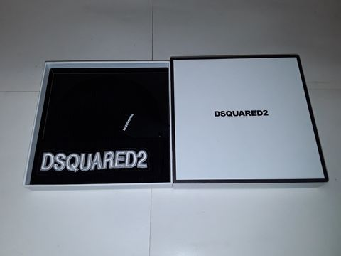 Lot 82 DSQUARED2 BEANIE HAT IN BLACK