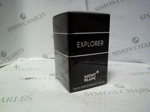 Lot 8113 BRAND NEW AND SEALED MONT BLANC EXPLORER EDP 100ML