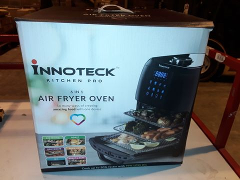 Lot 3252 BOXED INNOTECK KITCH PRO 1800W 12 LITRE AIR FRYER