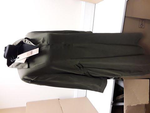 Lot 2060 DESIGNER PHASE EIGHT KHAKI ESI EYELET TUNIC DRESS SIZE UK 12