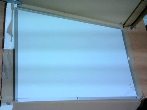 Lot 4184 BOARDSPLUS MAGNETIC WHITEBOARD - ALUMINIUM FRAME 90X60CM