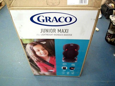 Lot 15057 BOXED GRACO JUNIOR MAXI